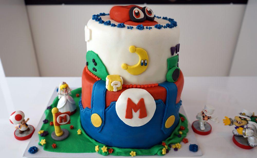 Super Mario Odyssey Torte